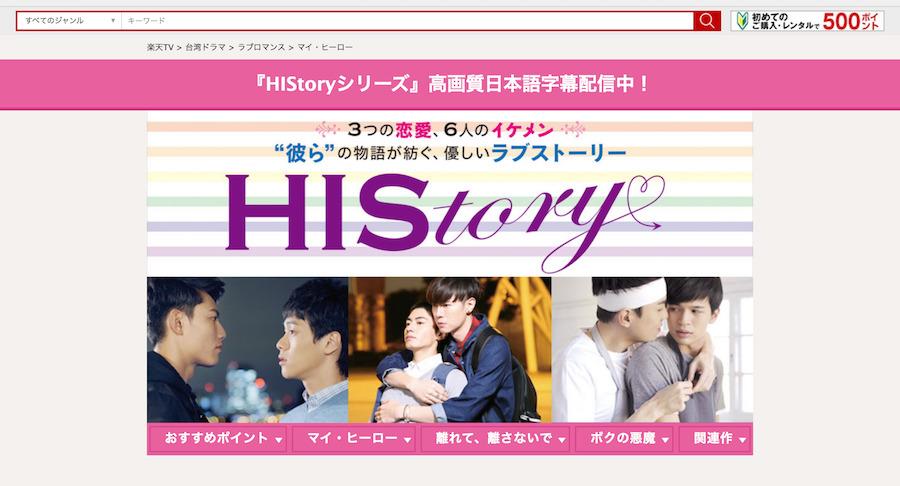 HIStory(ヒストリー)シリーズネタバレ・あらすじ